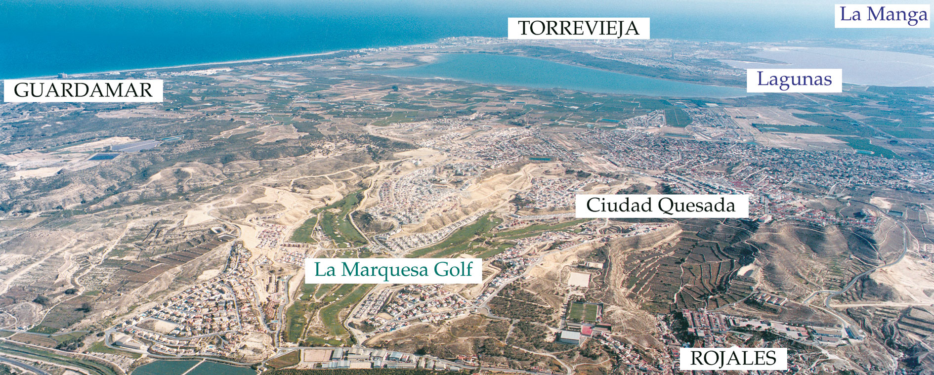 Location Ciudad Quesada Costa Blanca