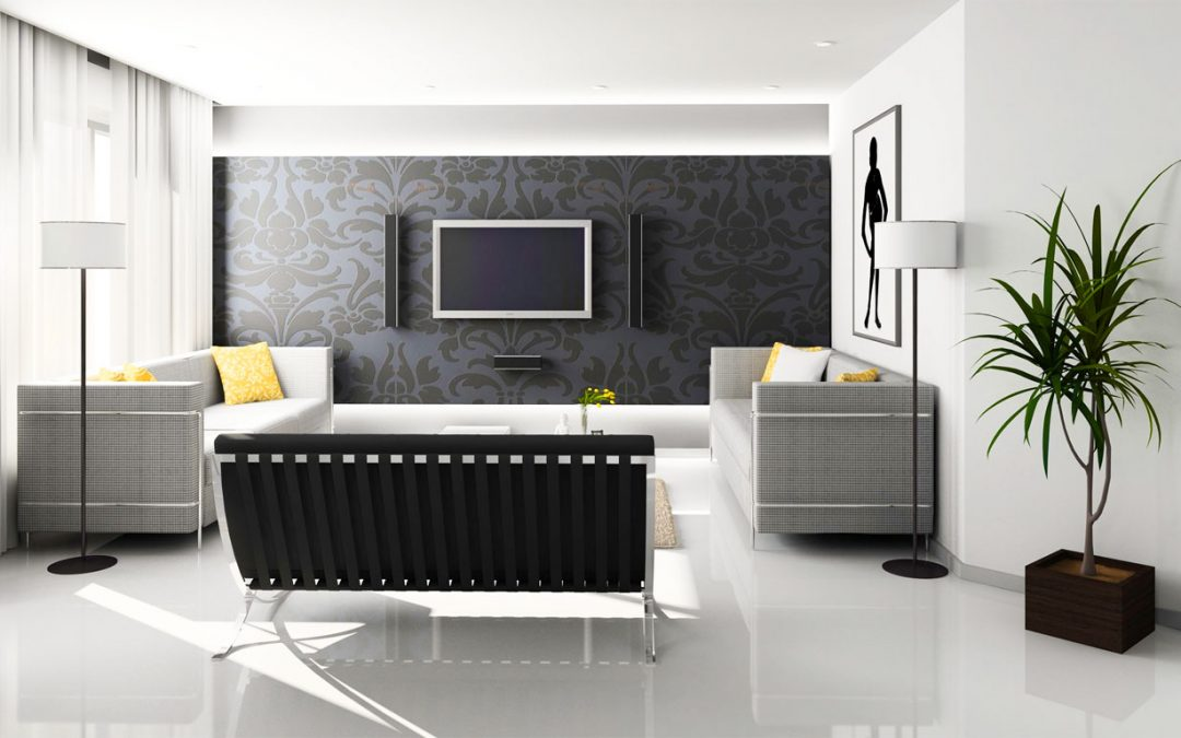 Current interior design trends for a modern home